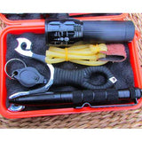 Outdoor SOS Emergency Equipment Tool Kit First Aid Box Supplies Survival