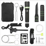 Outdoor Sports SOS Emergency Survival Tools Kit Tactical Hunting Tool With Self-Help Box