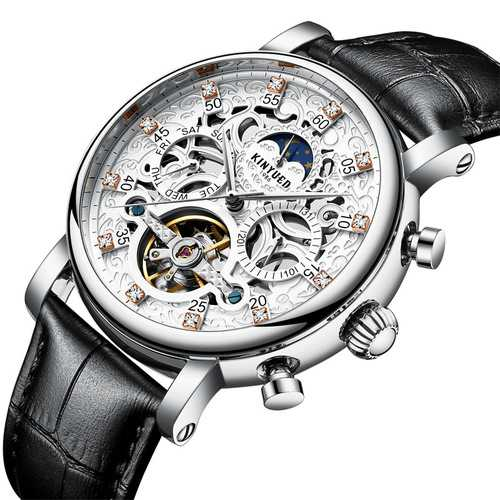 KINYUED JYD-J026 3D Dial Case Automatic Mechanical Watch