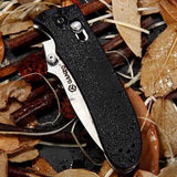 Ganzo 200mm 440C Stainless Steel Tactical Folding Knife Outdoor Portable Knife Multifunction Knife