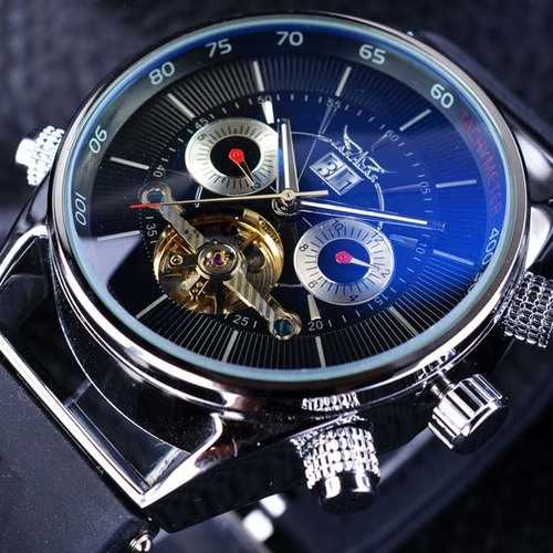 JARAGAR GMT960 Calendar Automatic Mechanical Watches