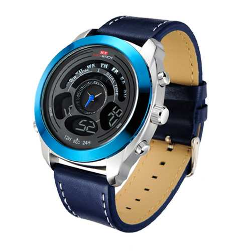KAT-WACH KT713 Chronograph Sport Dual Display Digital Watch