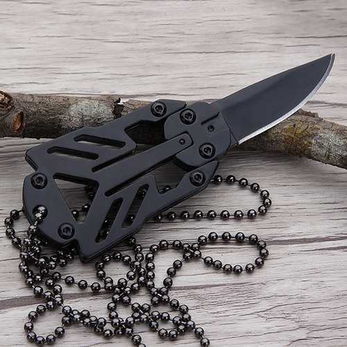 LAOTIE 90mm 3Cr13 EDC Mini Knife Outdoor Camping Tactical Knife Picnic Fruit Knives