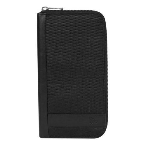 Travelon Hack-Proof RFID Blocking Executive Organizer Card Holder Wallet Black