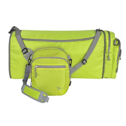 Travelon Convertible 2-in-1 Crossbody Duffel, Lime