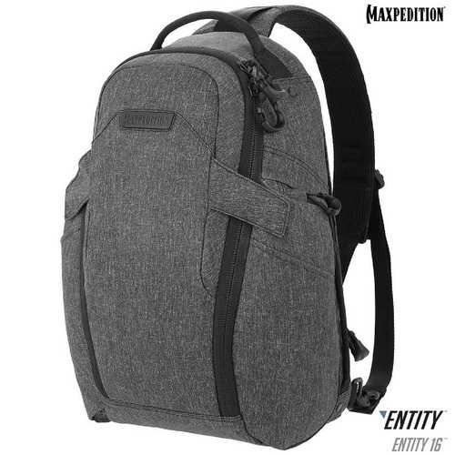 Maxpedition Entity 16 CCW-Enabled EDC SlingPack 16L Charcoal