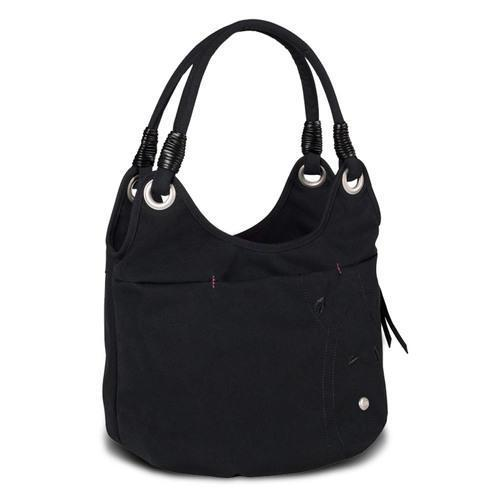 "Haiku Women""s Stroll Bucket Eco Shoulder Bag, Black"