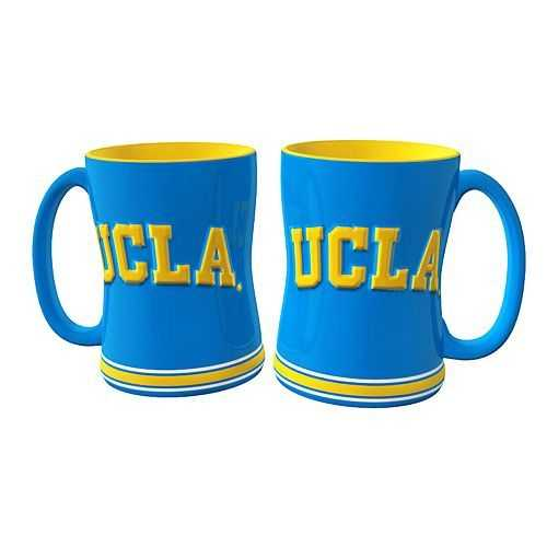 UCLA Bruins Coffee Mug - 14oz Sculpted Relief