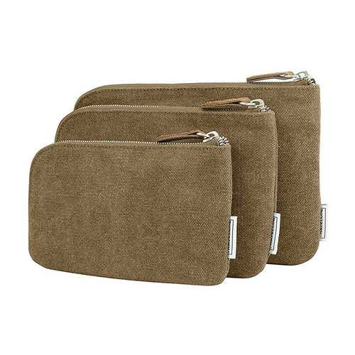 Travelon Anti-Theft Heritage Set of 3 RFID Blocking Pouches