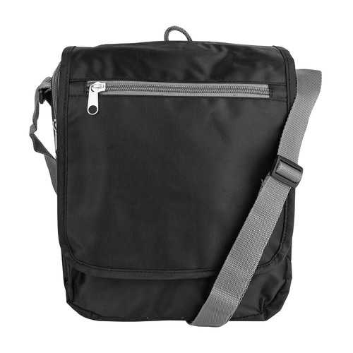 Triplogic Slim Travel Luggage CrossBody Day Bag Black