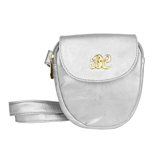 Bulldog Cases Trilogy Purse (Silver)