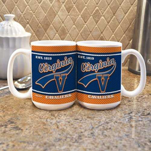 Virginia Cavaliers Coffee Mug - Jersey Style