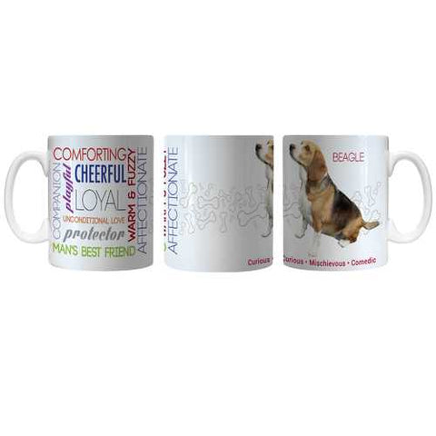 Pet Coffee Mug 11oz Beagle Special Order
