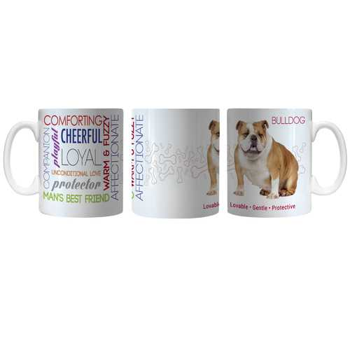 Pet Coffee Mug 11oz Bulldog Special Order