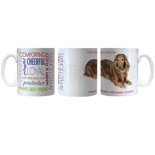 Pet Coffee Mug 11oz Dachshund Special Order