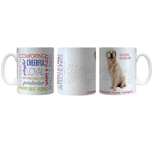 Pet Coffee Mug 11oz Golden Retriever Special Order