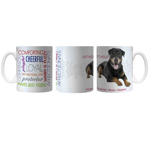 Pet Coffee Mug 11oz Rottweiler Special Order
