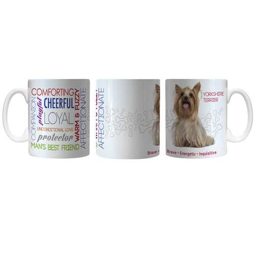 Pet Coffee Mug 11oz Yorkshire Terrier Special Order