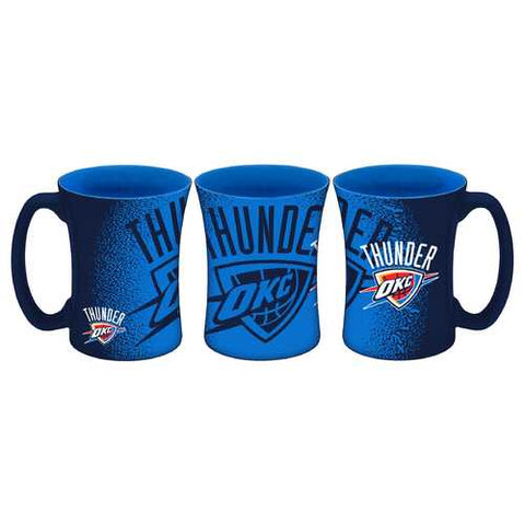 Oklahoma City Thunder Coffee Mug 14oz Mocha Style