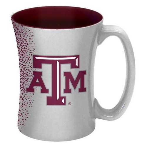 Texas A&M Aggies Coffee Mug - 14 oz Mocha