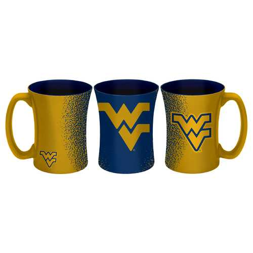 West Virginia Mountaineers Coffee Mug - 14 oz Mocha Special Order