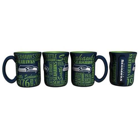 Seattle Seahawks Coffee Mug 17oz Spirit Style