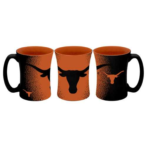 Texas Longhorns Coffee Mug 14oz Mocha Style