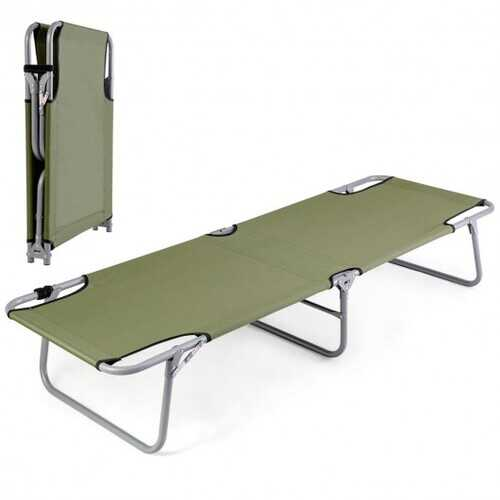 Portable Foldable Camping Bed Army Military Camping Cot