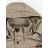 Thickened Warm Multi Pockets Jacket