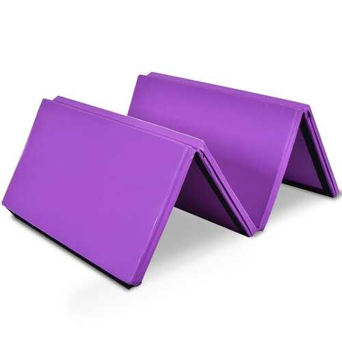 "4' x 8' x 2"" Gymnastics Mat Folding Anti-Tear Gymnastics Panel Mats"