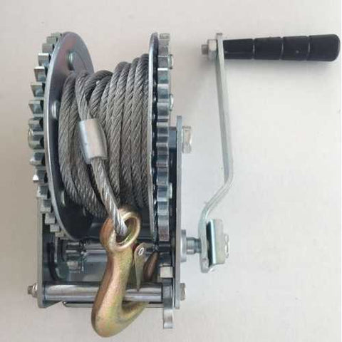 Winch 1200 lb with Cable & Hook