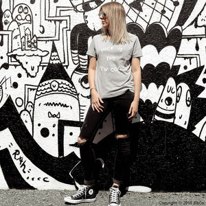 WOMENS CREW TEE... NICE IS THE NEW COOL