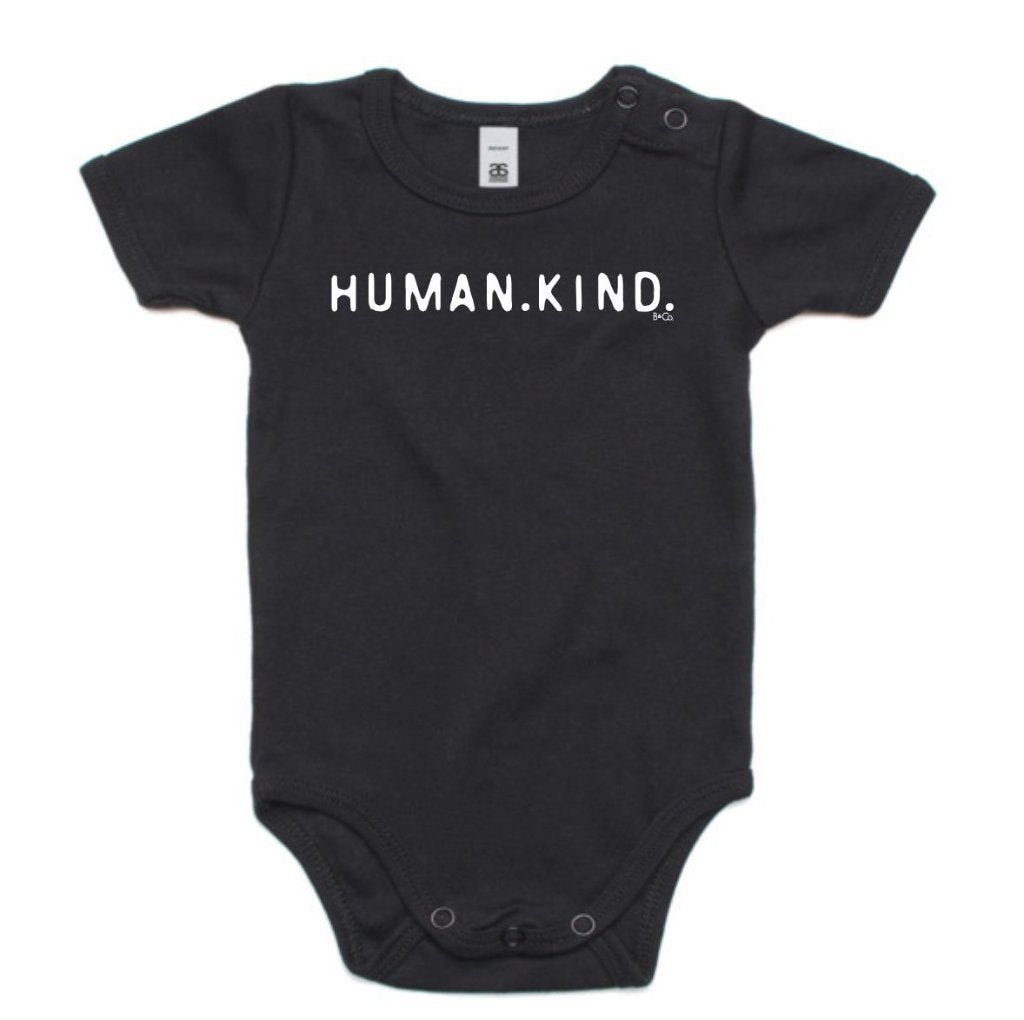 KIDS ONESIE... HUMAN.KIND.