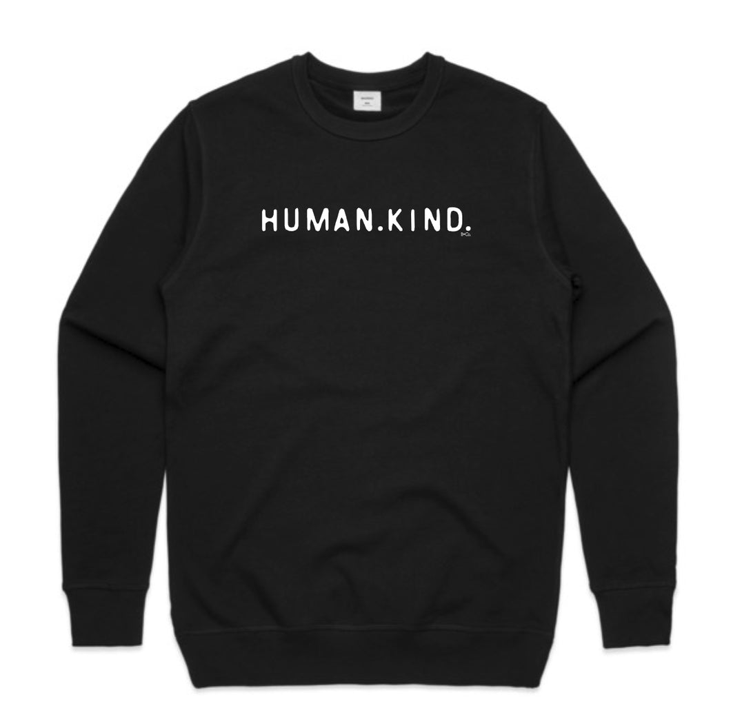 UNISEX JUMPER... HUMAN.KIND.