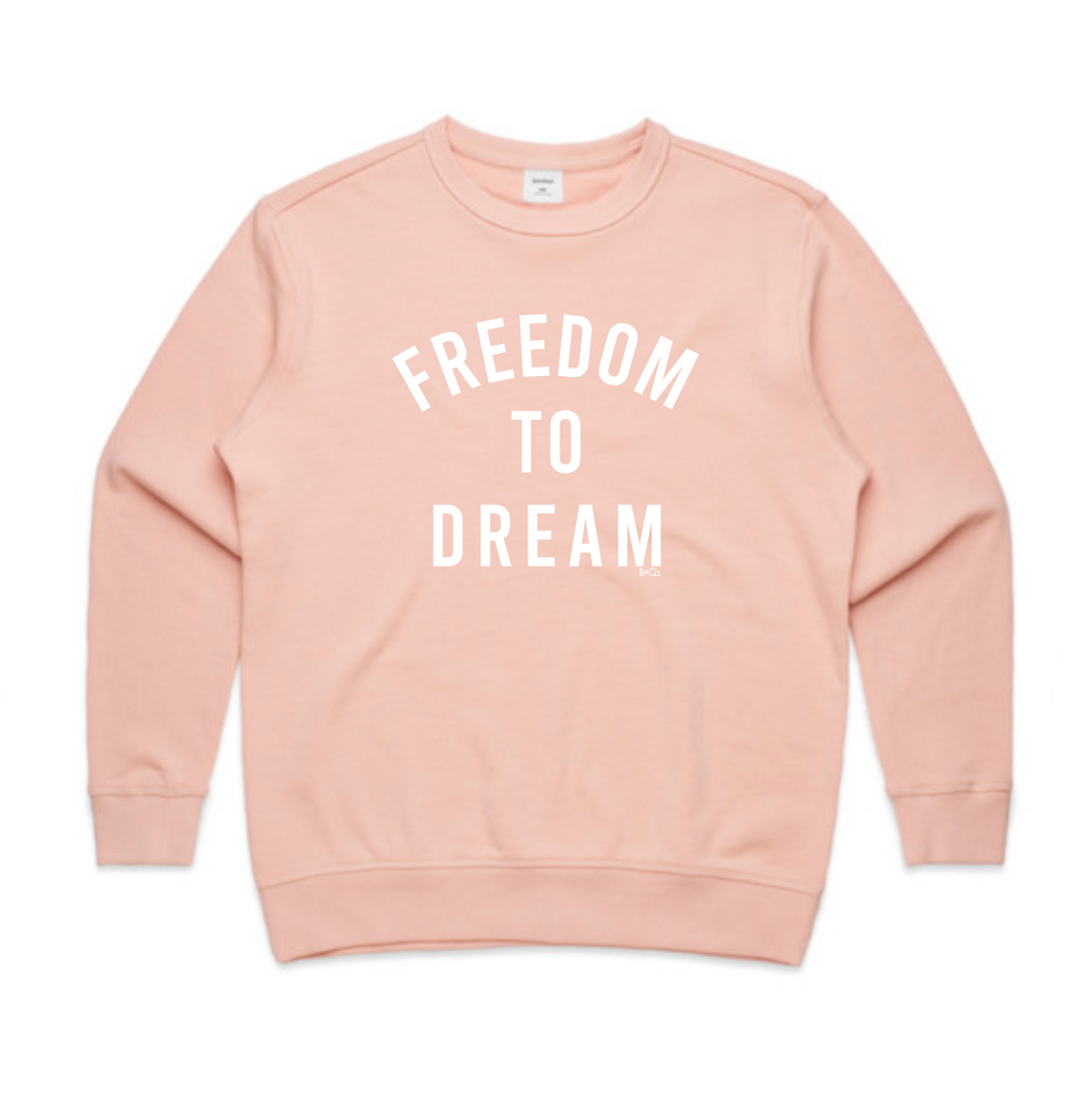 WOMENS JUMPER... FREEDOM TO DREAM