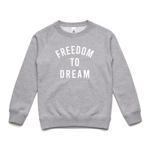 KIDS JUMPER... FREEDOM TO DREAM