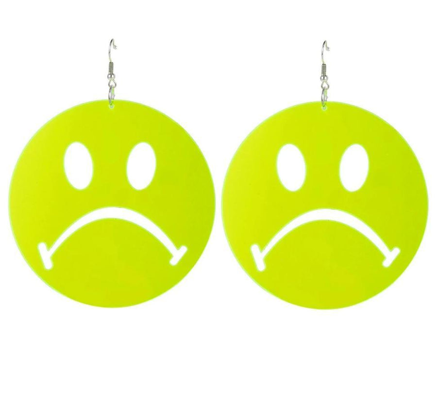 Don't tell me to Smile Earrings SUZYWAN DELUXE