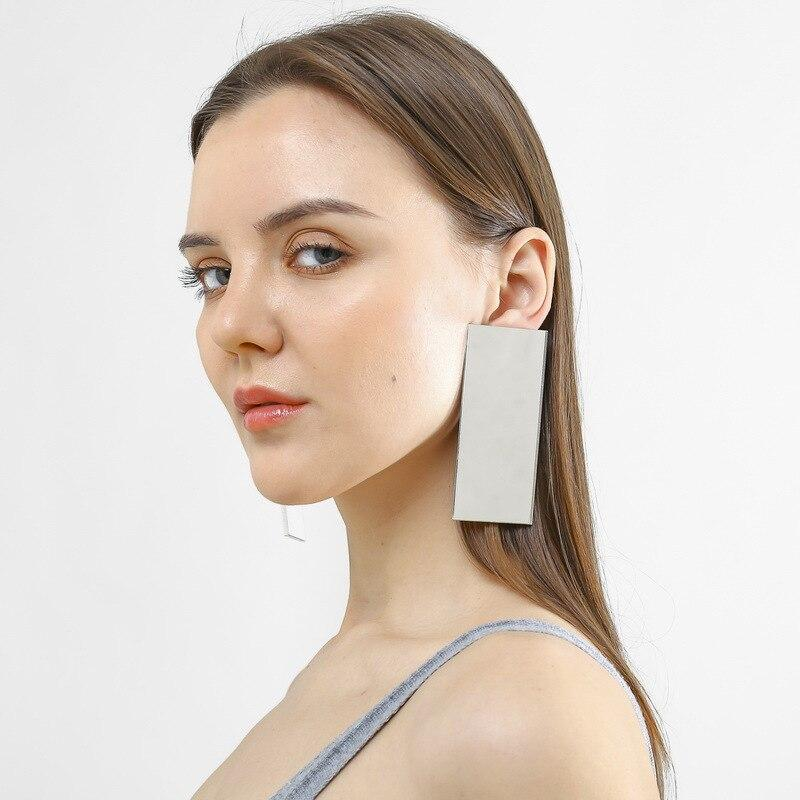 Exaggeration Square Earrings SUZYWAN DELUXE