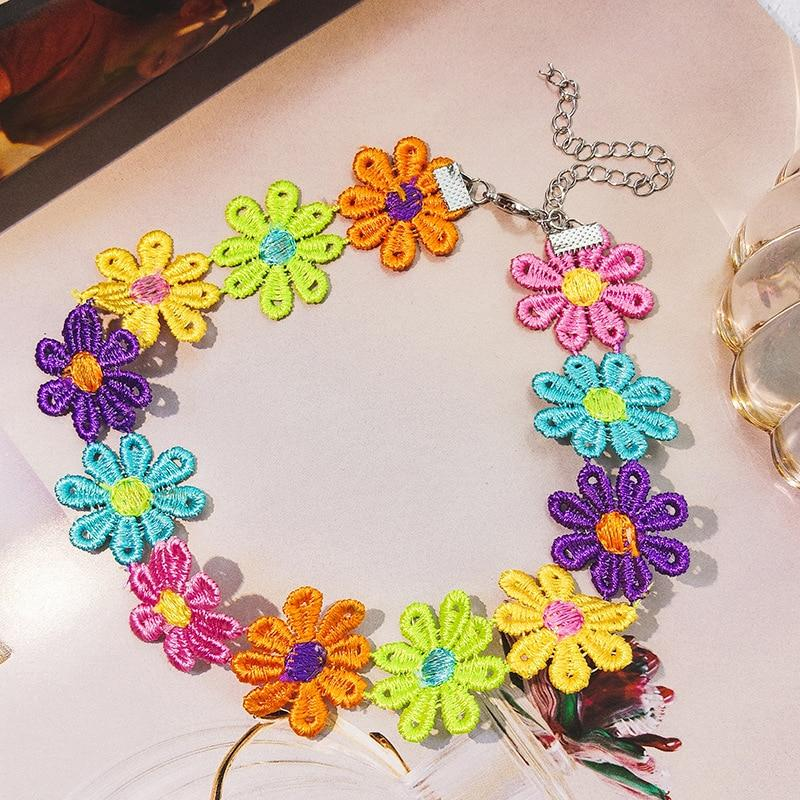 Sunflower Chokers SUZYWAN DELUXE