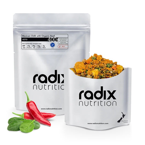 Radix KETO 400 | Mexican Chilli with Organic Beef