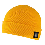 Planks Drop Cliffs Stencil beanie