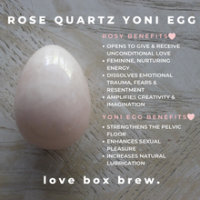 Load image into Gallery viewer, Rose Quartz Yoni Egg