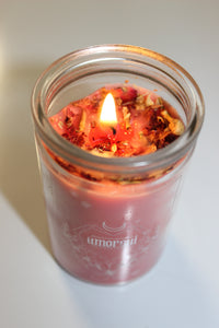 AMORSUI Self-Love charged pink candle