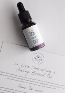 La Luna Nourishing and Healing Breast Oil
