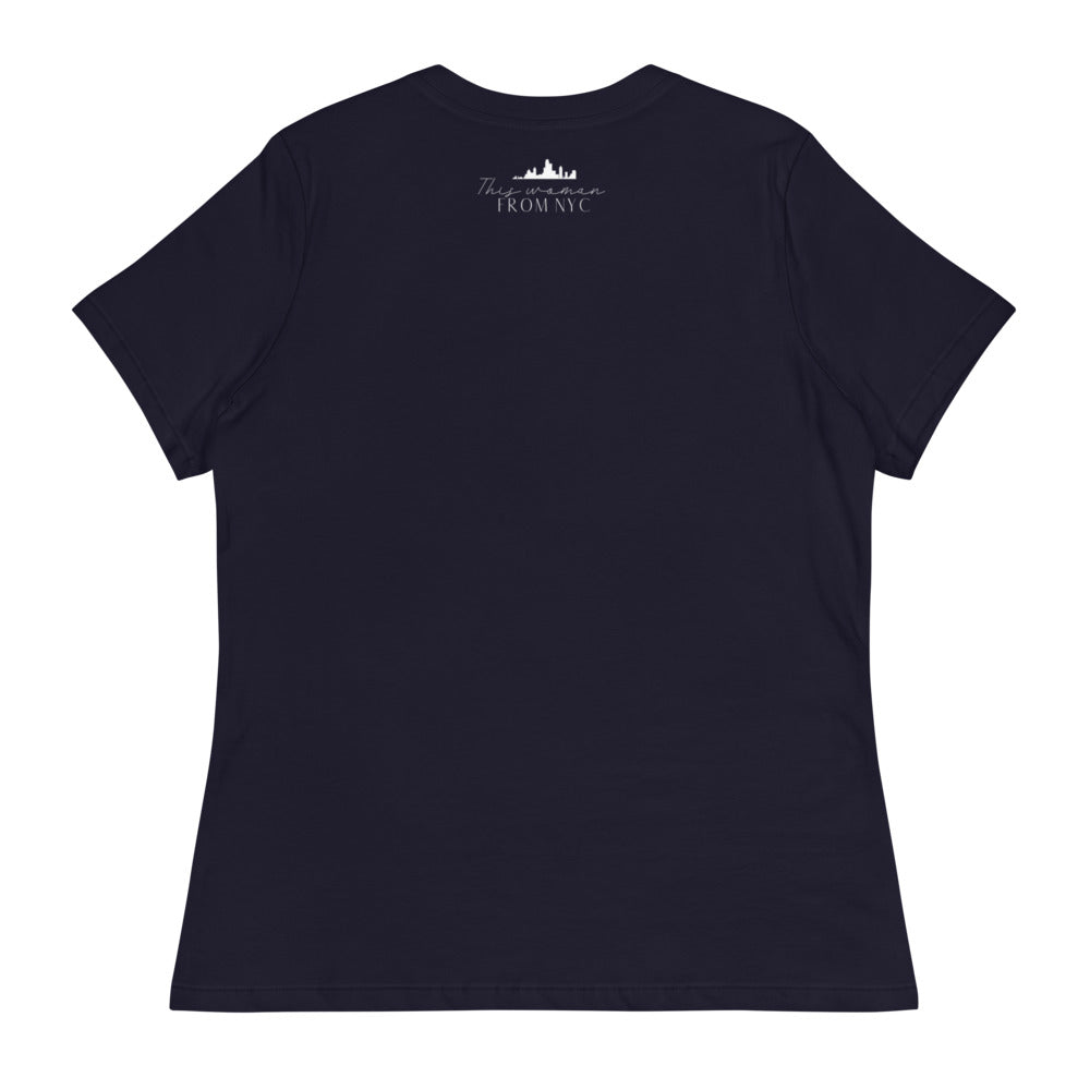 THISWOMANFROMNYC x Love Box Brew Women's Relaxed T-Shirt