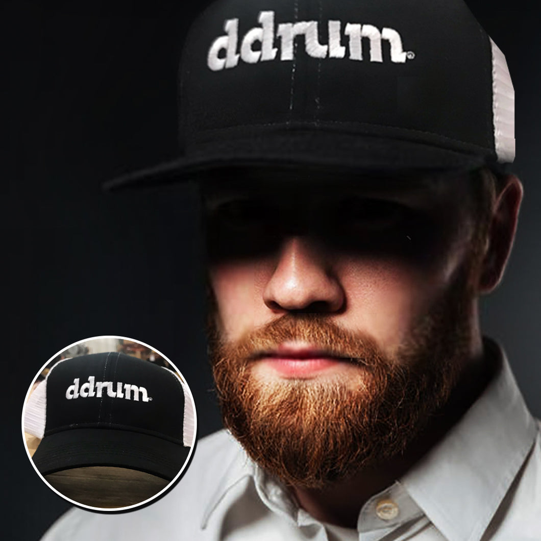 Ddrum Mesh Hat Black