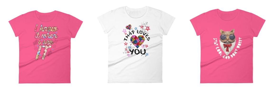 Best and Cute Round Neck T-shirt For Ladies & Girls: Can't Stop Wearing