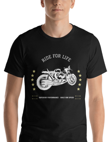 "Men's Premium T-Shirt – ""Ride For Life"""