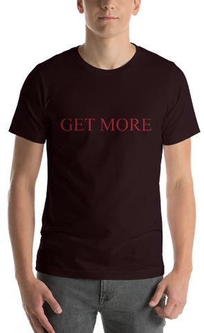 "Men's Premium T-Shirt – ""Get More"""