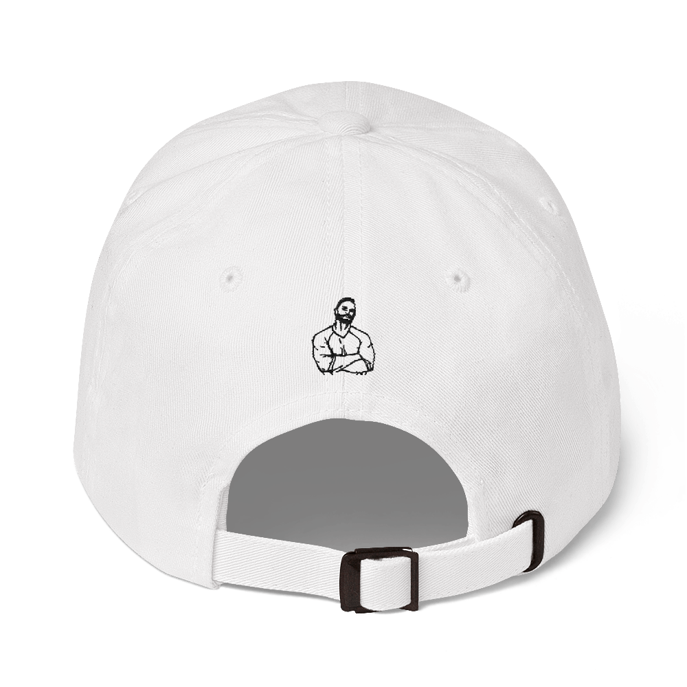 Dad Hat Premium Cap – Baseball Player - Shirtbadass